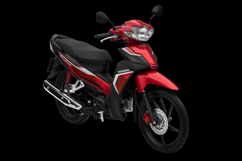 Honda Blade Thể thao đỏ