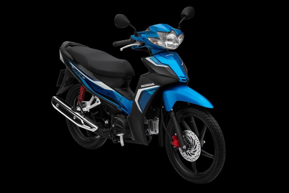 Honda Blade Thể thao xanh