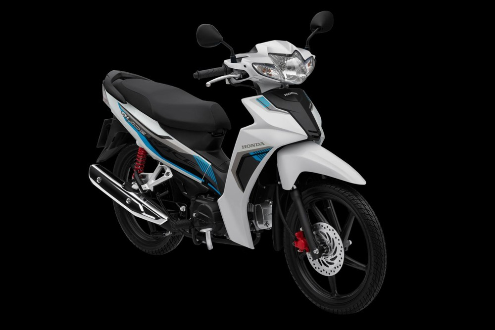 Honda Blade Thể thao trắng