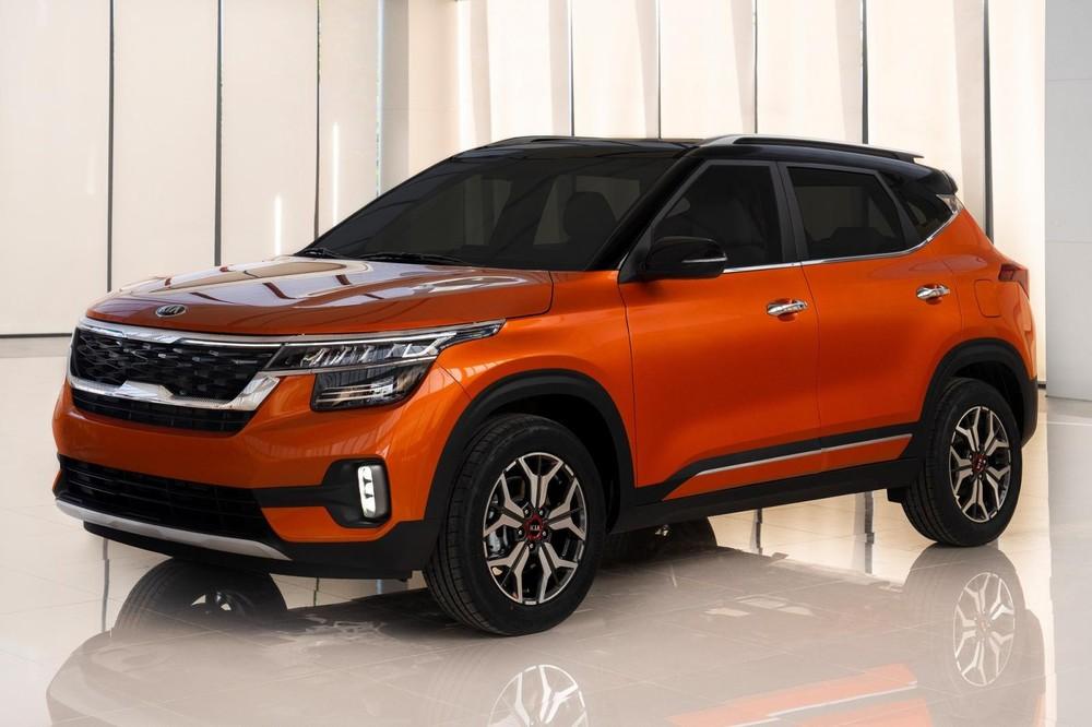 Kia Seltos sở hữu chiều dài và chiều cao nhỉnh hơn một chút so với Hyundai Kona