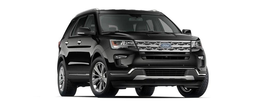 Ford Explorer màu đen