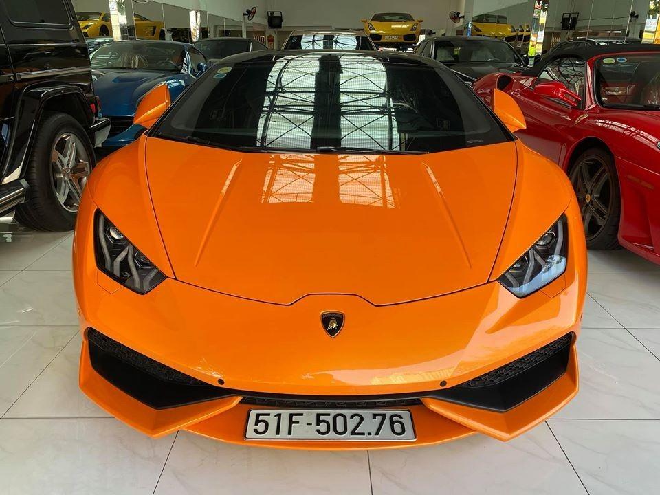 Lamborghini Huracan cam