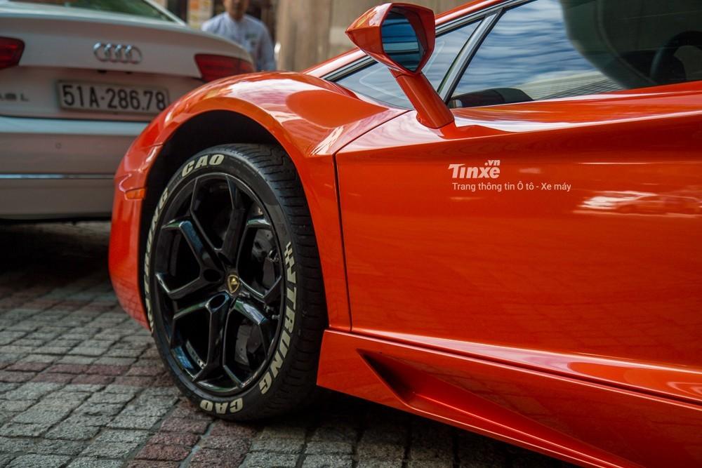 Mâm siêu xe Lamborghini Aventador LP700-4