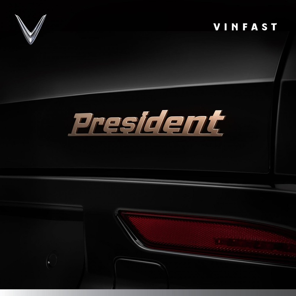 Hình ảnh đầu tiên của VinFast President được đăng tải trên fanpage của hãng xe Việt trước đó