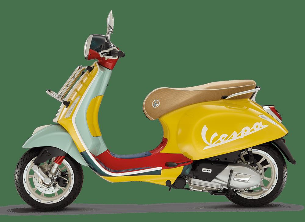 Giá xe Vespa Primavera Sean Wotherspoon đắt gần gấp đôi so với bản tiêu chuẩn