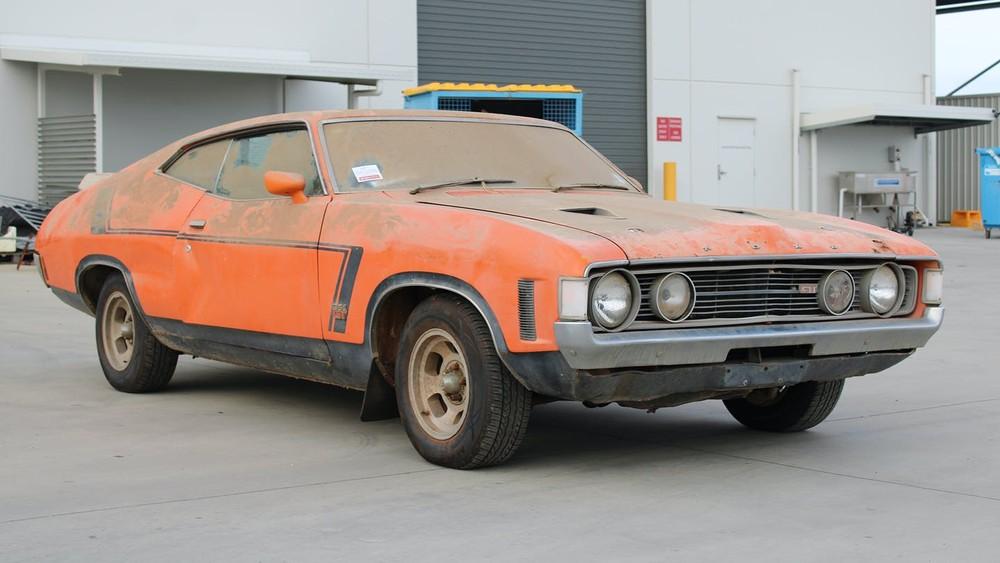 Đây là một chiếc Ford Falcon RPO 83 1973 rất hiếm vừa được giải cứu' sau hơn 30 năm