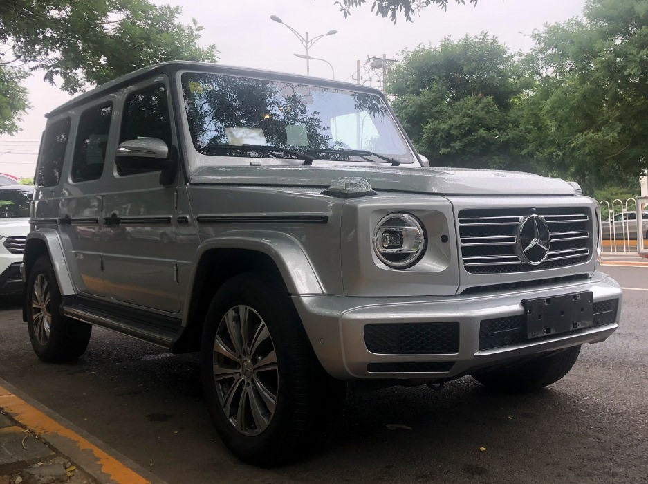 Mercedes-Benz G350 appears on Chinese streets