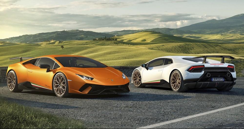 Vẻ đẹp của siêu xe hiệu suất cao Lamborghini Huracan Performante