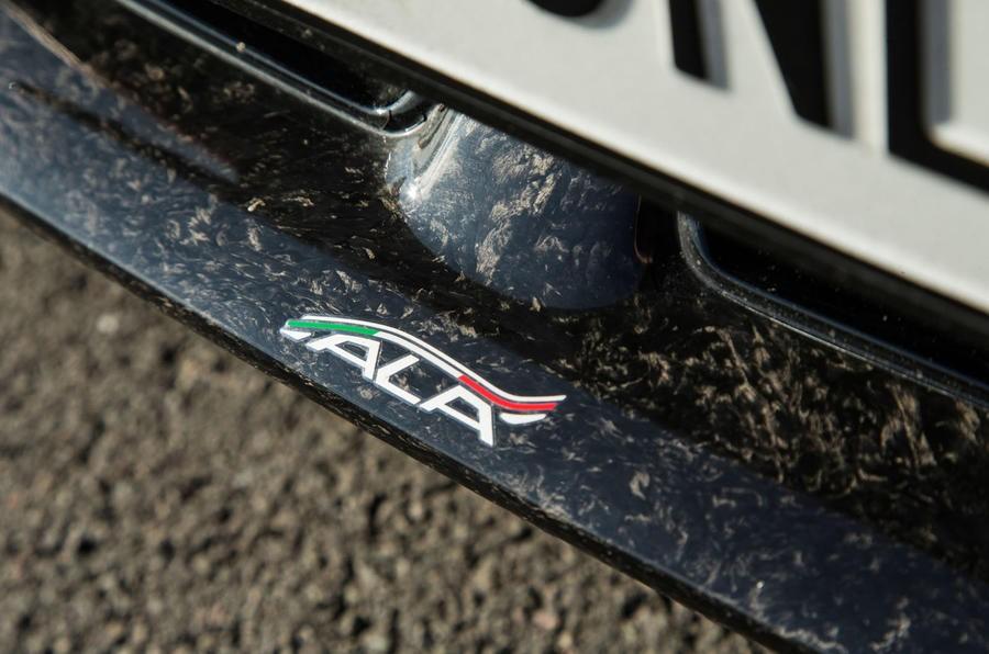Hệ thống khí động học chủ động ALA của Lamborghini Huracan Performante
