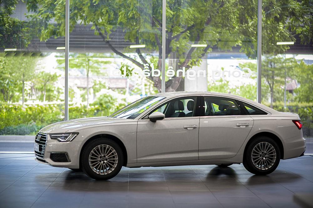 Audi A6 mới có kích thước lớn hơn so với người tiền nhiệm,
