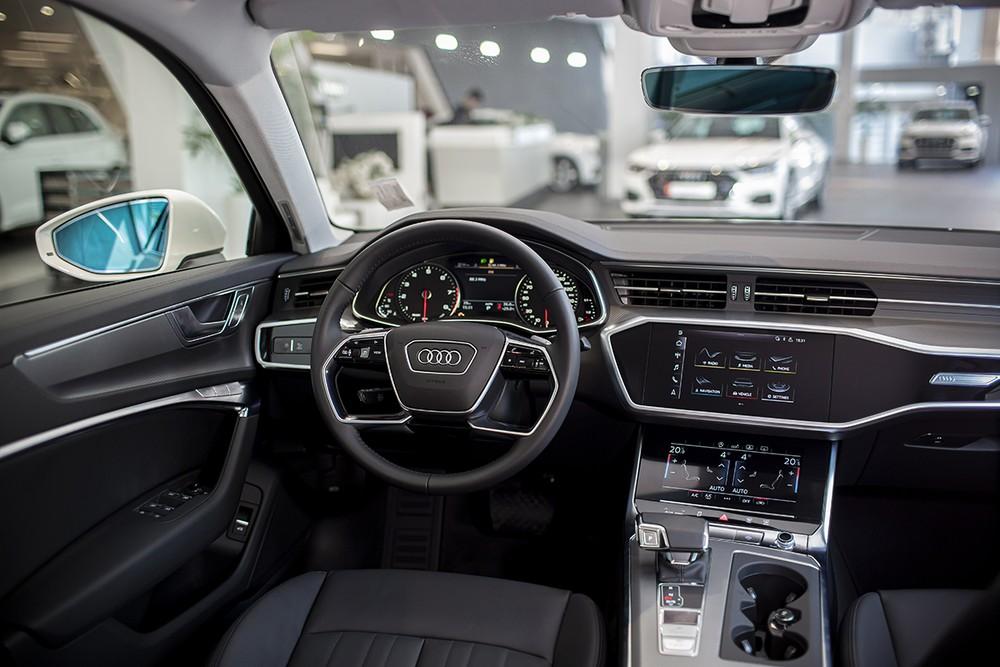 Nội thất hiện đại mà tinh tế của Audi A6 2020 khiến nhiều người mê mẩn.
