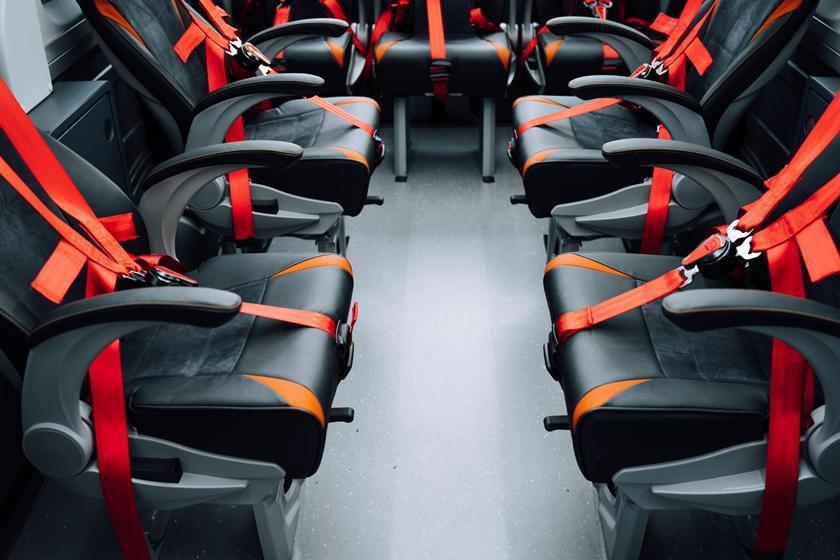 Các ghế ngồi trong xe sẽ mang nhiều cấu hình khác nhau tùy thuộc nhu cầu sử dụng