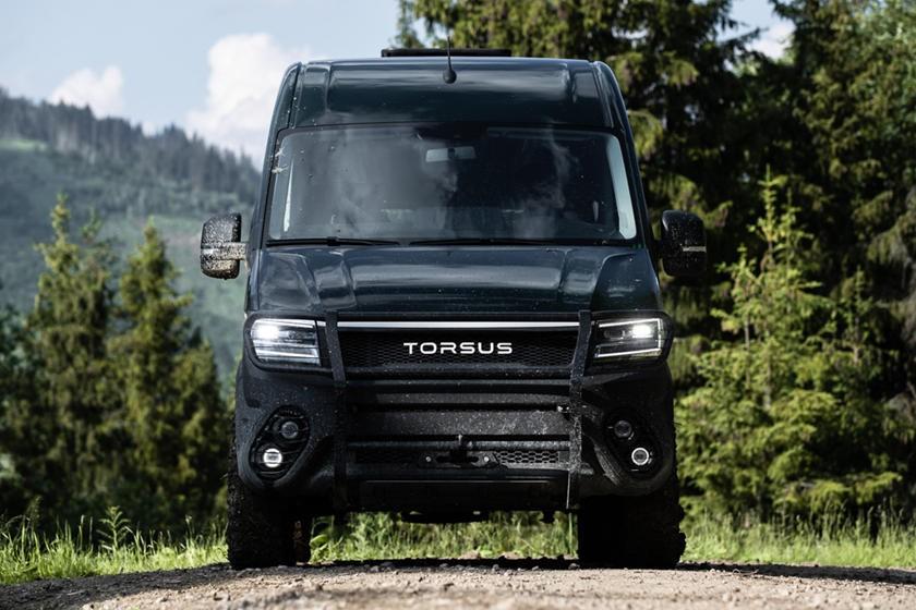 Torsus Terrastorm được chế tạo dựa trênVolkswagen Crafter với những nâng cấp cần thiết để nâng khả năng off-road