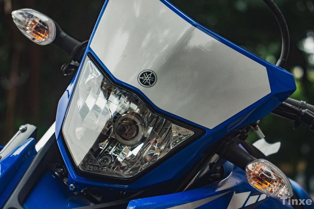 Thiết kế đầu xe Yamaha WR155R VVA 2021