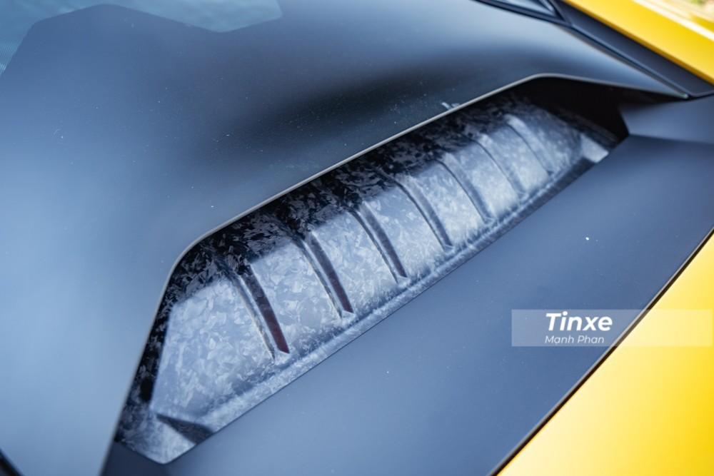 Động cơ của siêu xe Lamborghini Huracan LP580-2
