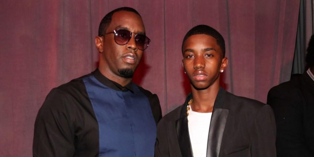 Rapper P Diddy và con trai King Combs