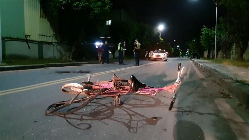 Chiếc xe đạp biến dạng sau vụ tai nạn