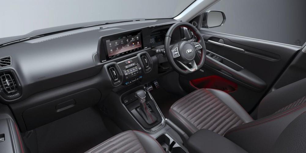 Nội thất bên trong Kia Sonet phiên bản GT Line