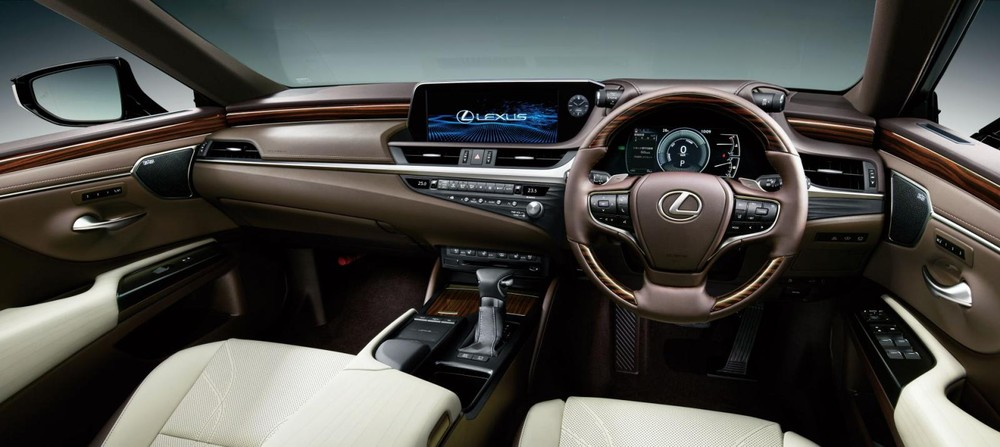 Nội thất bên trong Lexus ES 300h 2021