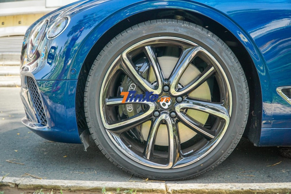 Mâm xe Bentley Continental GT thế hệ thứ 3