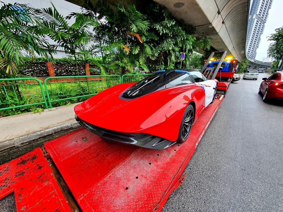 Giá xe McLaren Speedtail ở Singapore có thể hơn 152 tỷ đồng