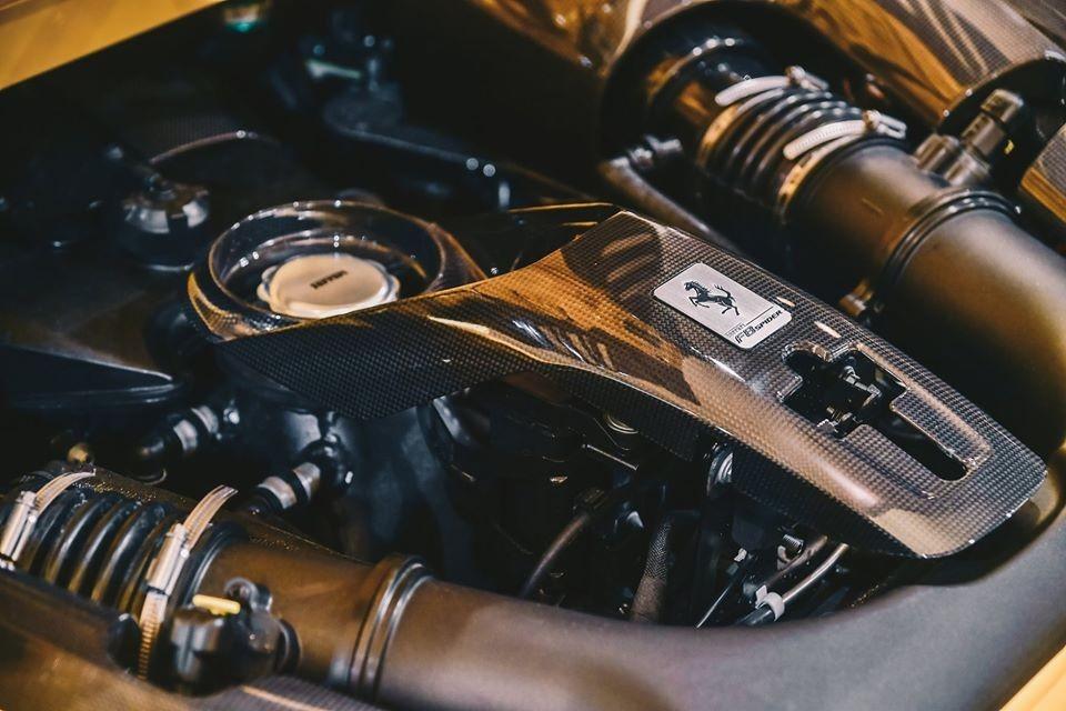 Siêu xe mui trần Ferrari F8 Spider có công suất 711 mã lực