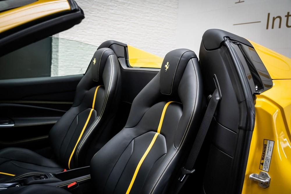 Ferrari F8 Spider là chiếc siêu xe mui trần hoàn toàn mới của hãng xe ngựa chồm.