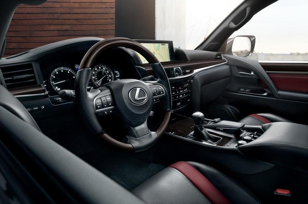Nội thất bên trong Lexus LX Inspiration Series 2021