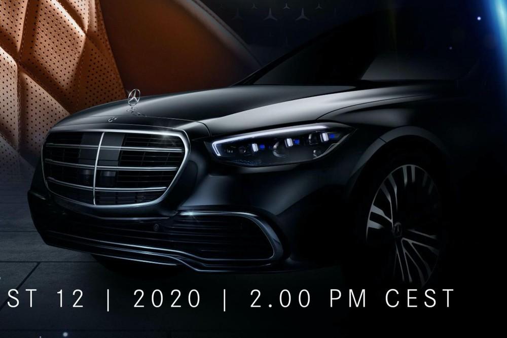 Mercedes-Benz S-Class 2021 sẽ chính thức trình làng vào ngày 2/9 tới đây