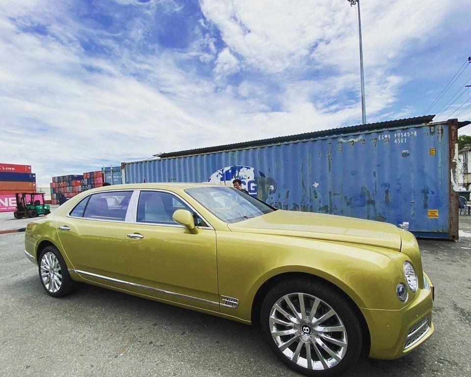 Một chiếc Bentley Mulsanne EWB bản nâng cấp mới nhất kịp về Việt Nam trong năm 2020 trước khi bị khai tử