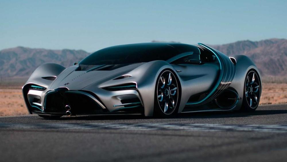 Hyperion XP-1 là siêu xe chạy hydro mang dáng vẻ viễn tưởng