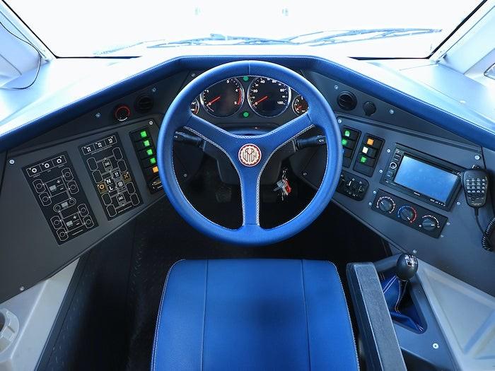Hệ thống lái củaShaman Ambulance 8x8