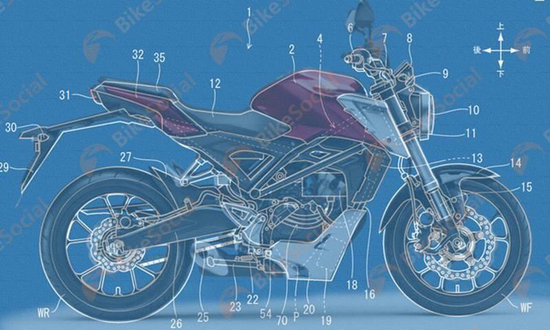 Thiết kế mới gây chú ý trên Honda CB150R