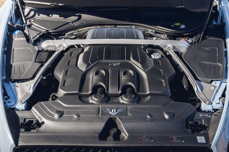 Động cơ V8 trên Bentley Continental GT V8