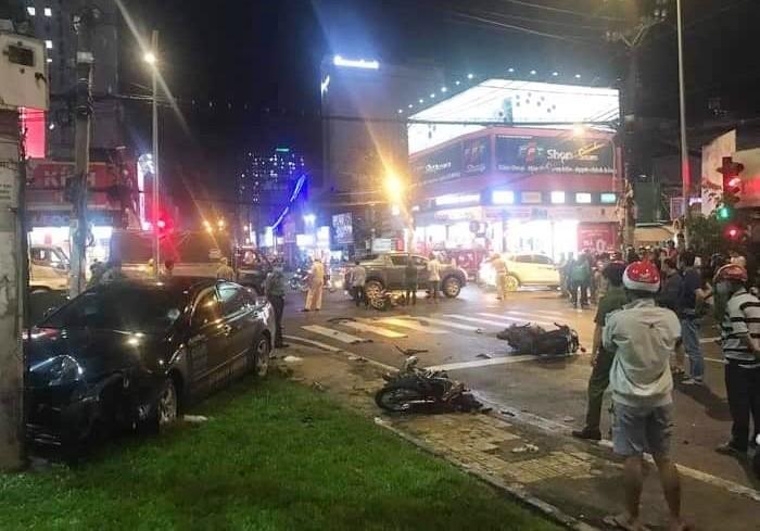 Nguyên nhân vụ tai nạn là do nữ tài xế 23 tuổi đạp nhầm chân ga