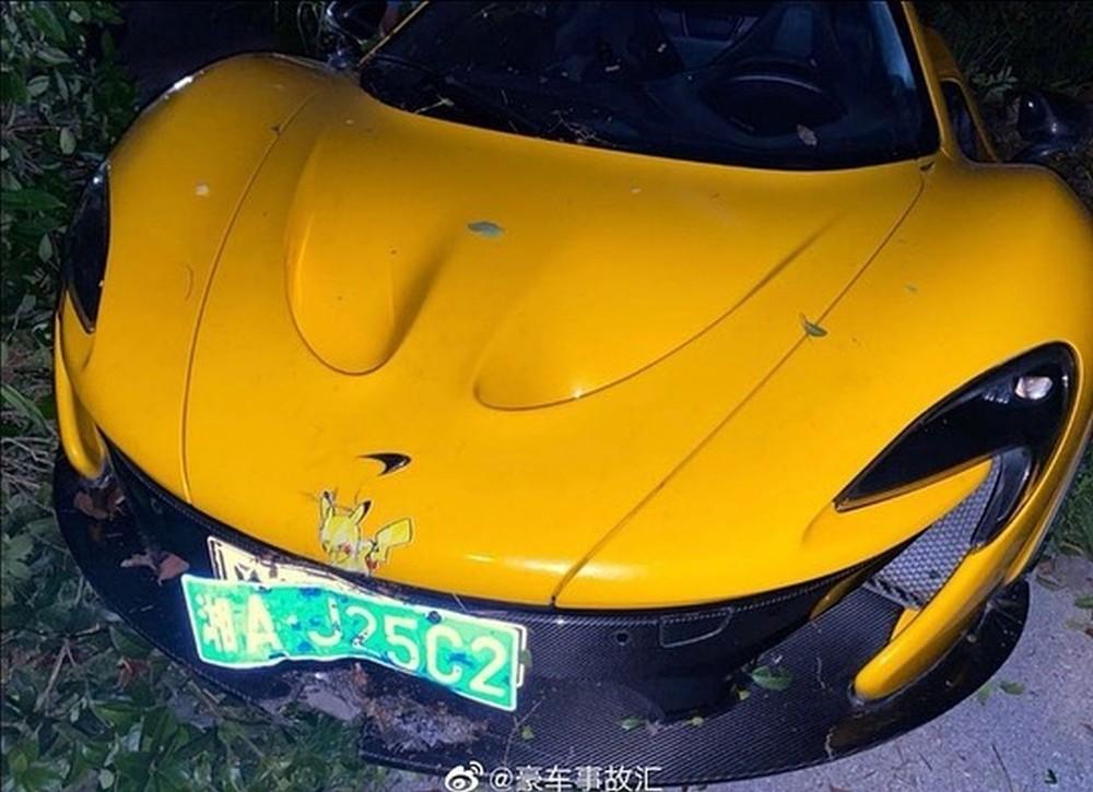 Đây là vụ tai nạn McLaren P1 thứ 2 tại Trung Quốc được nhìn thấy