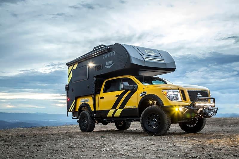 Hellwig Rule Breaker là một chiếc bán tải cắm trại dựa trên Nissan Titan XD
