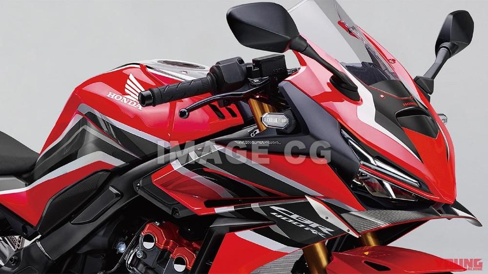 Thiết kế Honda CBR400RR được dự đoán trong tương lai
