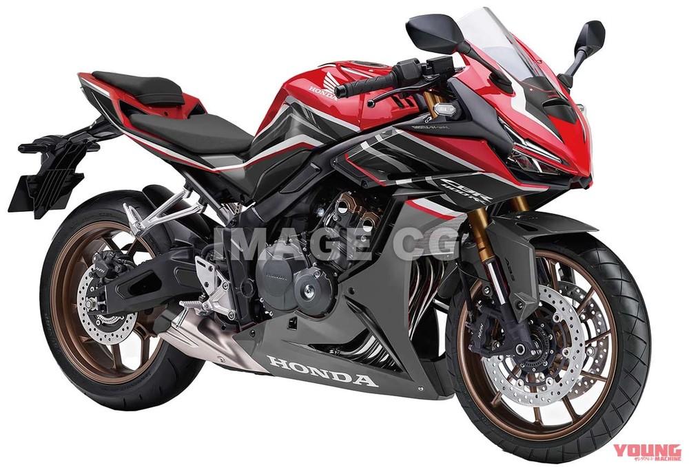 Thiết kế tuyệt đẹp được lai tạo từ Honda CBR650R và CBR250RR trên CBR400RR