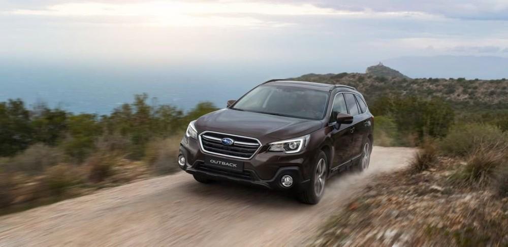 Ngoại thất của Subaru Outback 2020