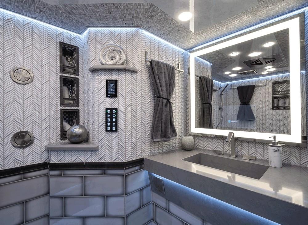 Phòng tắm trên xe