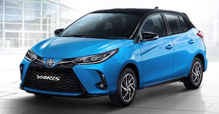 Toyota Yaris và Yaris Ativ 2020 còn có đèn pha mới