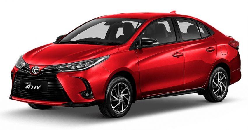 Ở bản cao cấp, Toyota Yaris và Yaris Ativ 2020 dùng vành hợp kim 15 inch