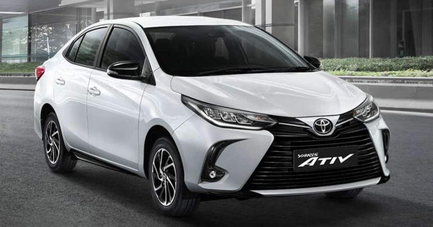 Toyota Yaris và Yaris Ativ 2020 dùng động cơ như cũ