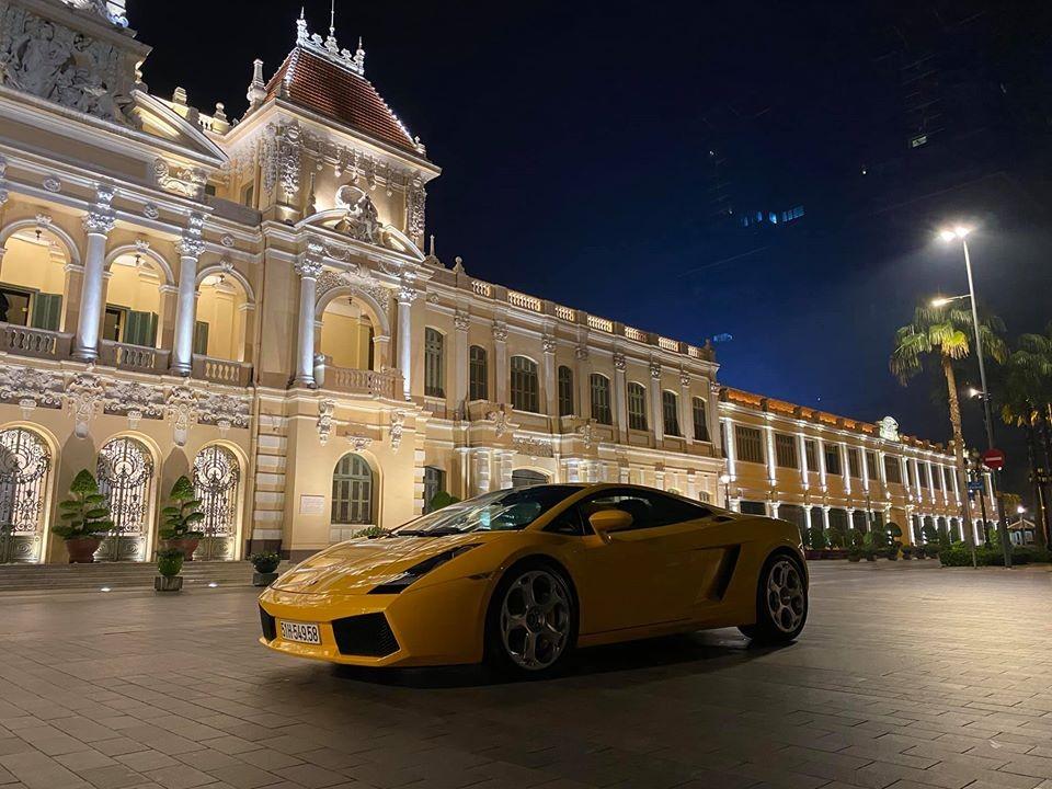 Chiếc siêu xe Lamborghini Gallardo có tuổi đời hơn 13 năm tại Việt Nam