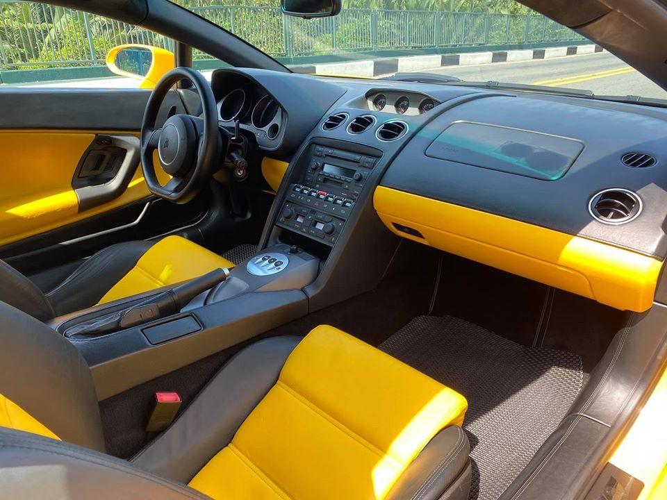 Thiết kế nội thất của Lamborghini Gallardo