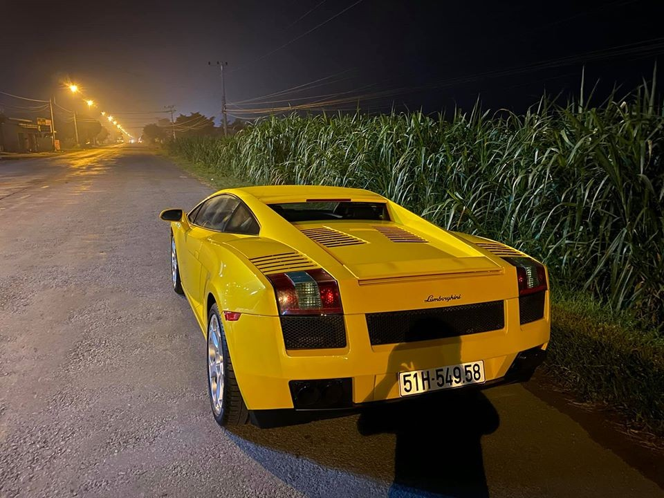 Lamborghini Gallardo có thể đạt tốc độ tối đa 309 km/h
