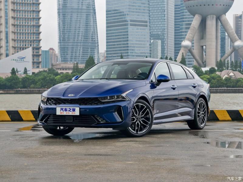 Kia K5 2021 ra mắt thị trường Trung Quốc
