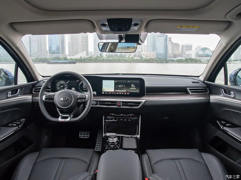 Nội thất bên trong Kia K5 2021 tại thị trường Trung Quốc