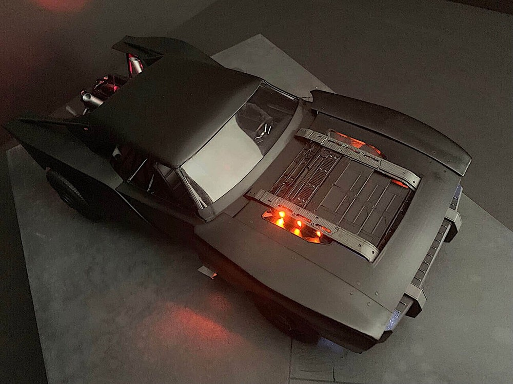 Thiết kế của Batmobile 2021
